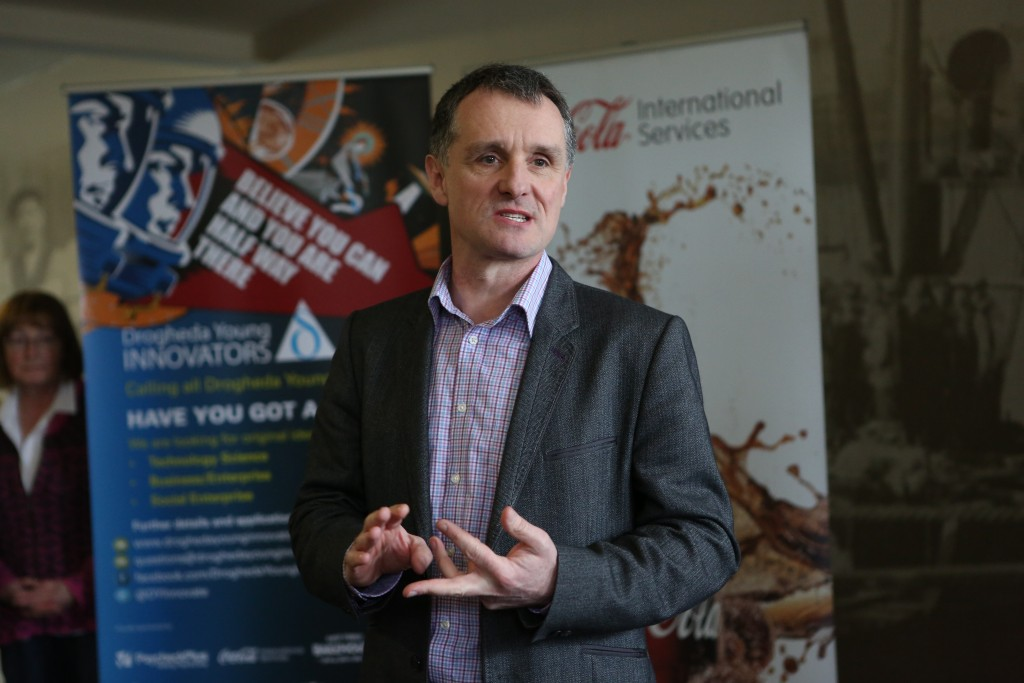 Launch of Drogheda Young Innovators.   Geoff Fitzpatrick of Fitz Scientific. Photo-Jenny Matthews