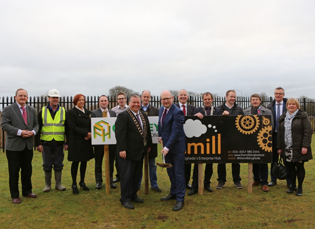 The Mill sod turning