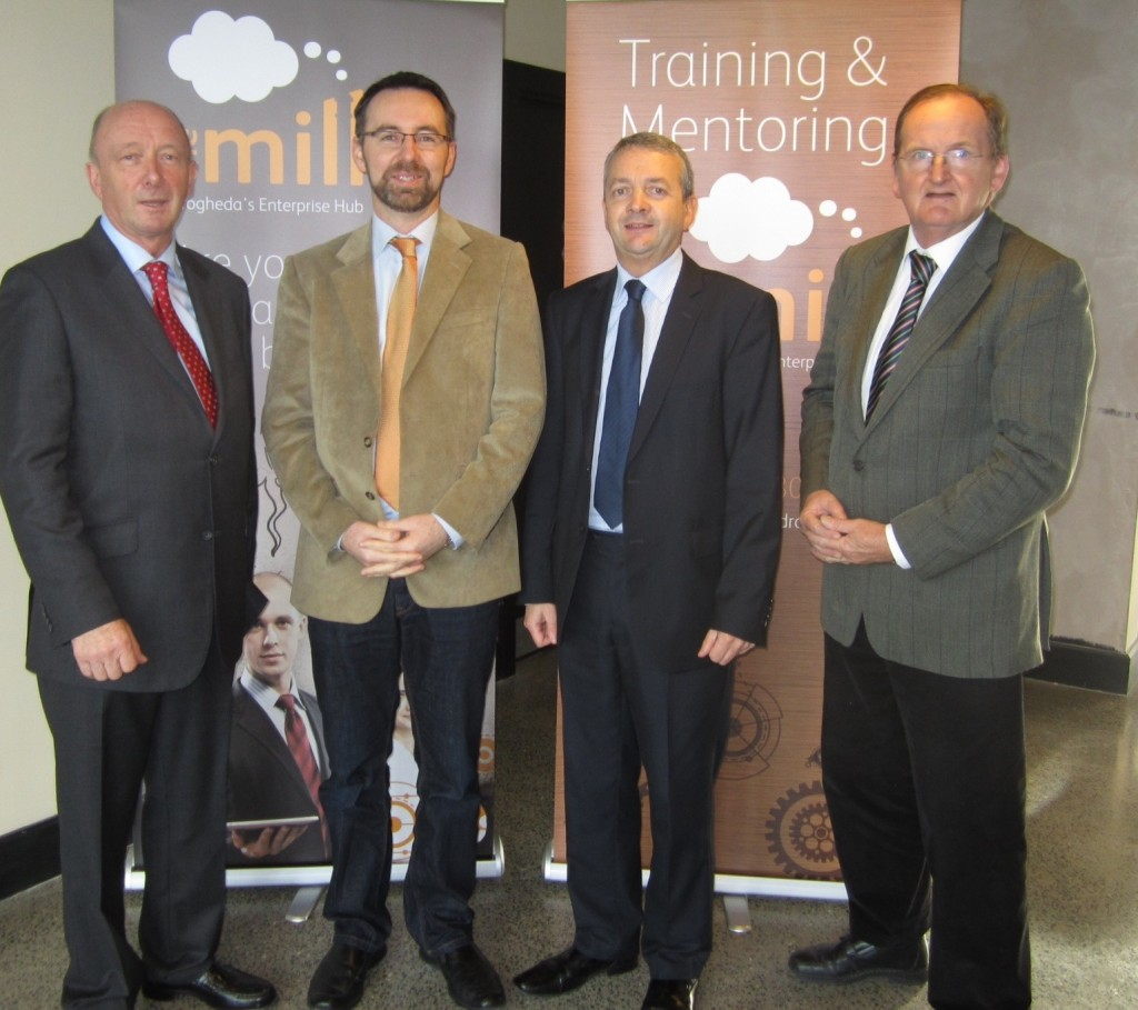 Flogas Ireland's Richard Marting and Eoin O'Flynn at The Mill Drogheda