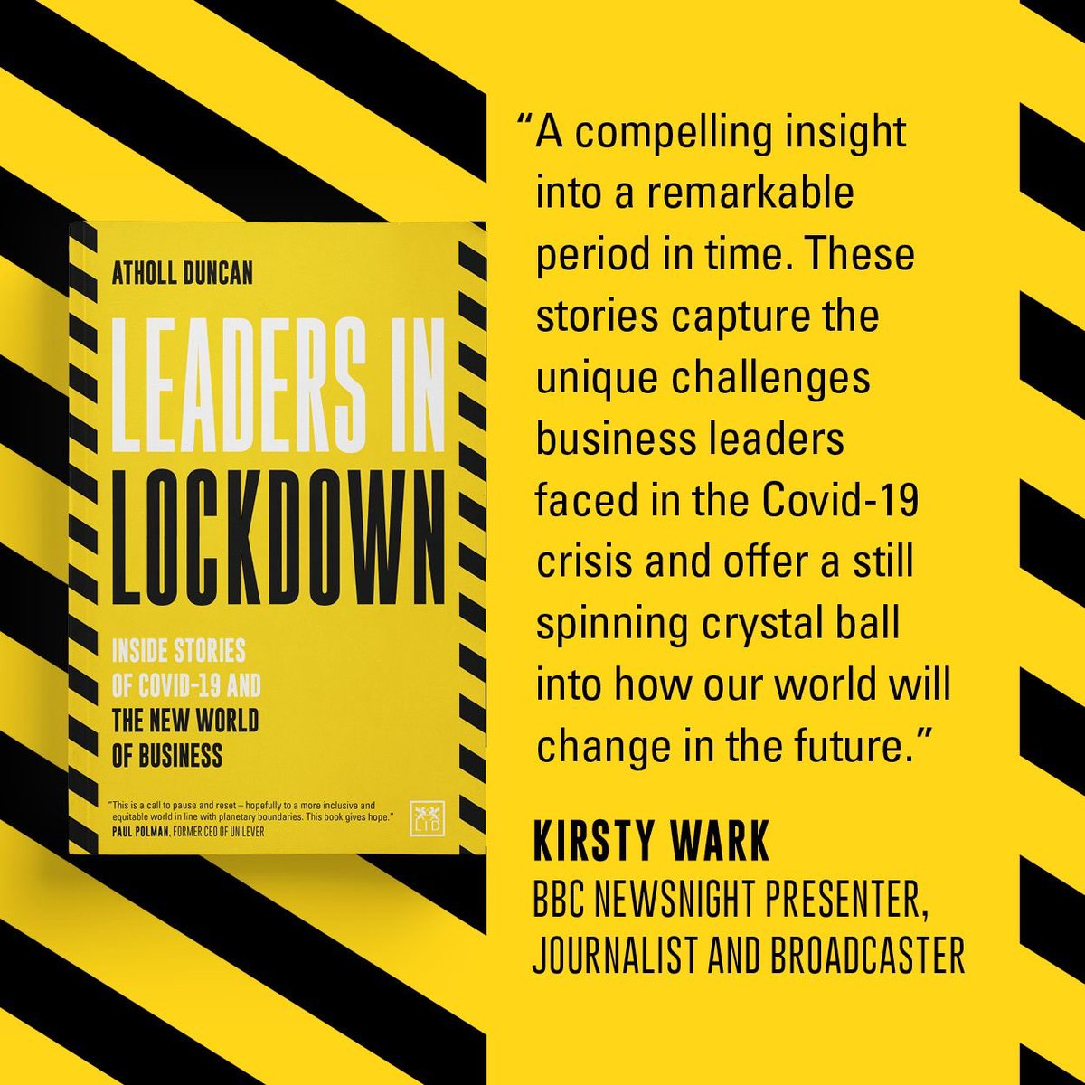 'Leaders in Lockdown' – Review by Drogheda Business book Club
